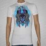 Dr Acula Spider Ram White T-Shirt
