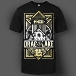 Drag The Lake Crest Black T-Shirt