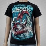 Dream On    Dreamer Dragon Slayer Black T-Shirt