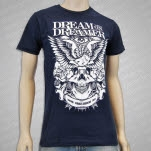 Dream On    Dreamer Free Eagle Navy T-Shirt