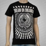 Dream On    Dreamer Illuminati Black T-Shirt