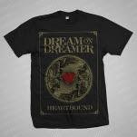 Dream On    Dreamer Heartbound Black T-Shirt
