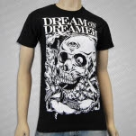 Dream On    Dreamer Skull Key Black T-Shirt
