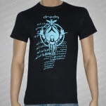 Dredg Light Blue Scarab Black T-Shirt