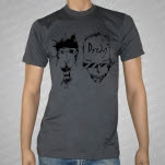 Dredg Faces Charcoal T-Shirt
