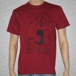 Dredg Finger Maroon T-Shirt