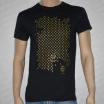 Dredg GOLD Penguins Black T-Shirt