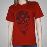 Dredg Owl Red T-Shirt