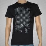 Dredg SILVER Penguins Black T-Shirt