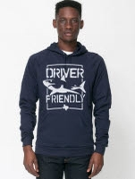 official Driver Friendly Shark Navy Pullover