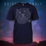 Driver Friendly Torpey The Tiger Navy T-Shirt