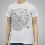 Driver Friendly Torpey The Tiger White T-Shirt