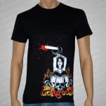 Drop Dead Gorgeous Chainsaw Black T-Shirt