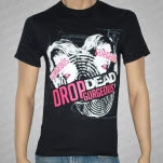 Drop Dead Gorgeous Cracked Black T-Shirt