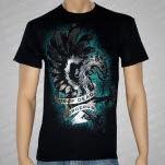 Drop Dead Gorgeous Griffin Foil Black T-Shirt