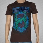 Drop Dead Gorgeous Sands of Time Brown T-Shirt