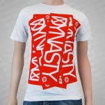 Dynasty Red Logo White T-Shirt
