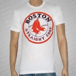 EDGE   SXE Clothing Boston Straight Edge White T-Shirt