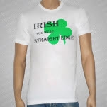 EDGE   SXE Clothing Irish White T-Shirt