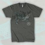 Eisley Currents Charcoal Grey T-Shirt