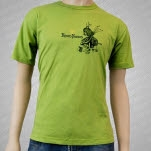 Eisley Room Noises Olive Green T-Shirt