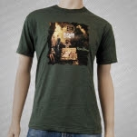 Eisley Room Noises Album Green T-Shirt