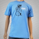 Eisley Woman And Child Light Blue T-Shirt