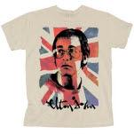 Elton John Union Jack T-Shirt