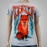 Emarosa Fox Charcoal Gray T-Shirt