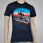 Emerson    Lake  Palmer Manticore Navy T-Shirt