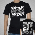 ENDER This Is Revenge Black T-Shirt