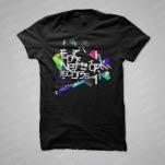 ENM Crazed Black T-Shirt