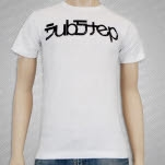 ENM Dubstep White T-Shirt