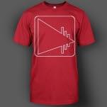 ENM Square Logo Red T-Shirt