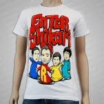 Enter Shikari Chipmunks White T-Shirt