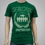 Enter Shikari Crowdsurf Squad Green T-Shirt