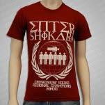 Enter Shikari Crownsurf Squad Maroon T-Shirt