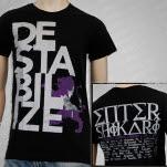 Enter Shikari Destabilize Tour Black T-Shirt