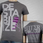 Enter Shikari Destabilize Tour T-Shirt