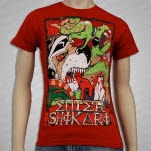Enter Shikari Lions vs Snakes Red T-Shirt