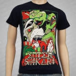 Enter Shikari Lions vs Snakes Navy T-Shirt