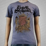 Enter Shikari Old School Slate Gray T-Shirt