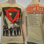 Enter Shikari Police Natural T-Shirt