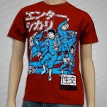 Enter Shikari Spacemen Red T-Shirt