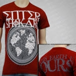Enter Shikari This Earth Is Ours Maroon T-Shirt