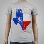 Enter Shikari Texas Silver T-Shirt