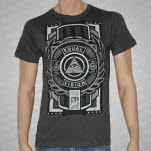 Equal Vision Records 365 Wreath Gray T-Shirt