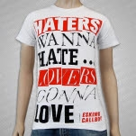Eskimo Callboy Haters And Lovers White T-Shirt