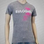 Eulogies Heart Trap Heather Grey T-Shirt