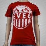 EVE 6 Cali Maroon T-Shirt